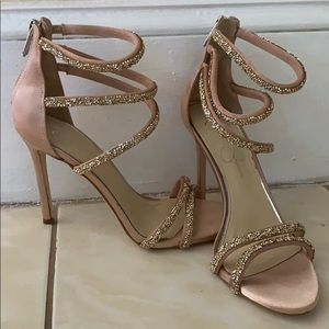 Jessica's Simpson Jamalee Gemstone Evening Sandals